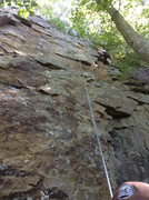 Rock Climbing Photo: Great route when it's dry!