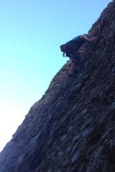 Rock Climbing Photo: Cobb it.