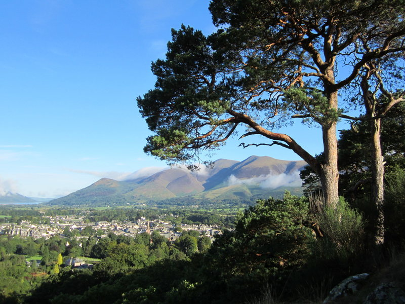 The town of Keswick, NW England