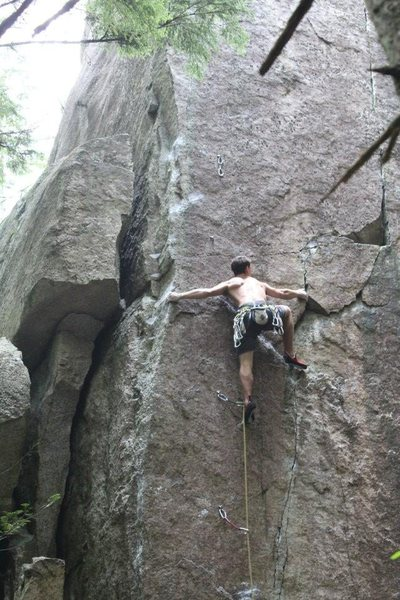 Rock Climbing Photo: Basically my favorite heel hook move i have encoun...