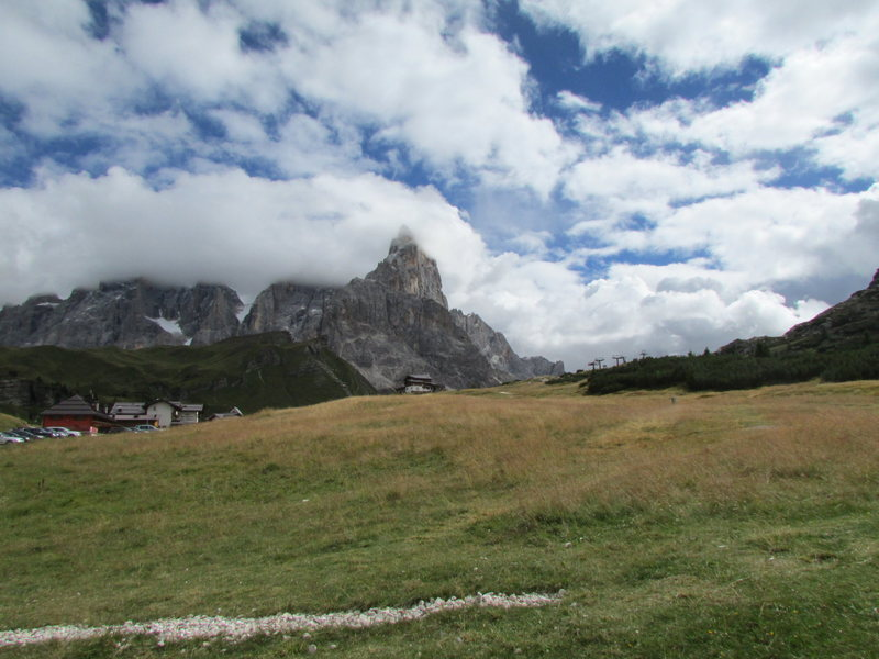 More recent photo from Passo Rolle.