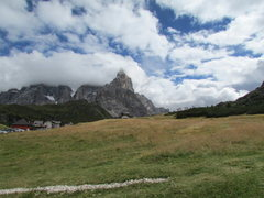 Rock Climbing Photo: More recent photo from Passo Rolle.