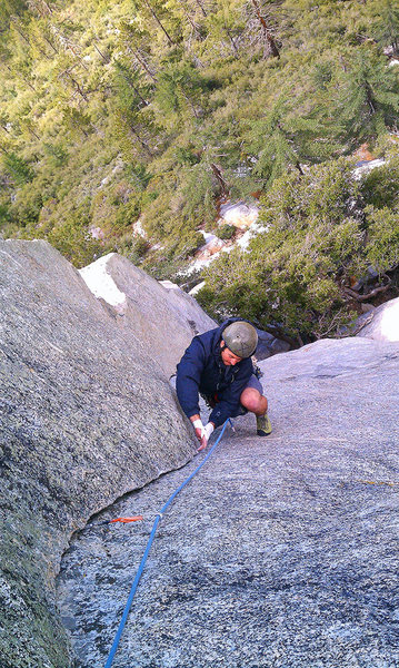 Rock Climbing Photo: El Camino Real