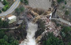 Rock Climbing Photo: Chastines Grove. Flood Sept. 2013.
