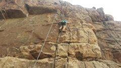 Rock Climbing Photo: Joshua tree thin wall
