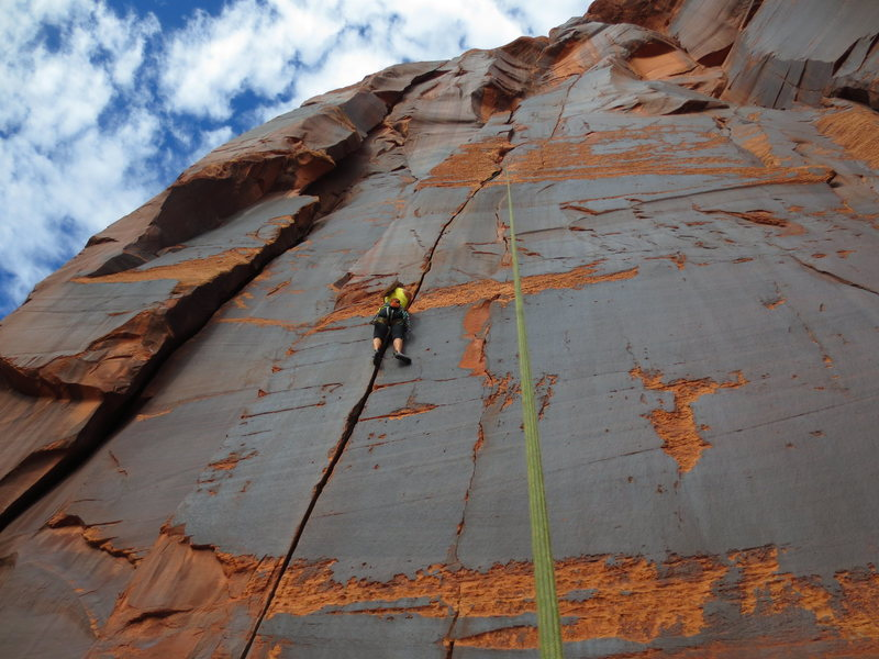 Rock Climbing Photo: Cruising