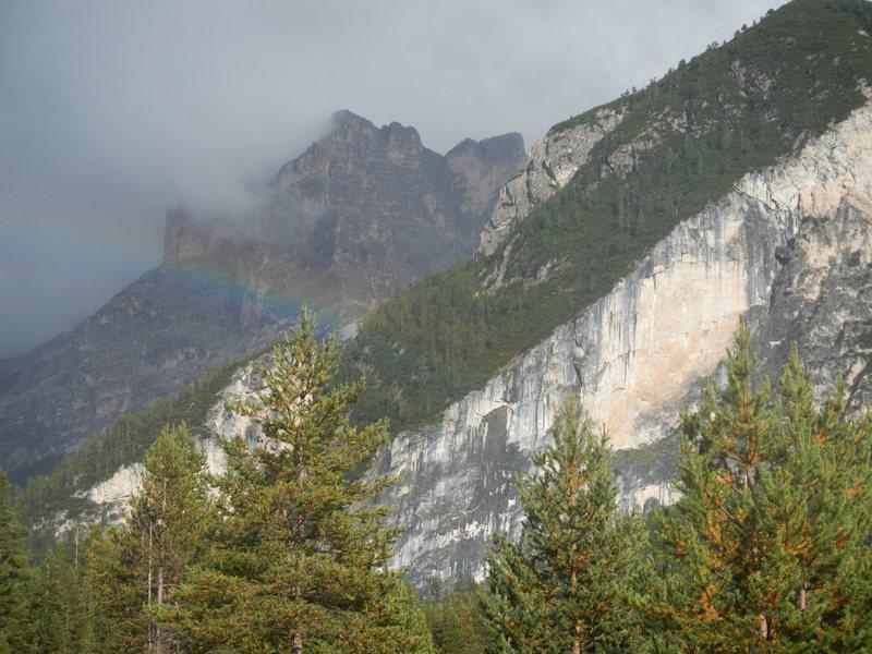 Rock Climbing Photo: Sass Dlacia, Sector A