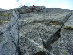 Rock Climbing Photo: The 2nd (or 3rd)pitch, depending on how you count....