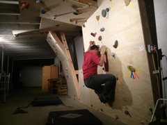 Rock Climbing Photo: Night climbing