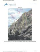 Rock Climbing Photo: North west Face of Fenceline updated with two new ...