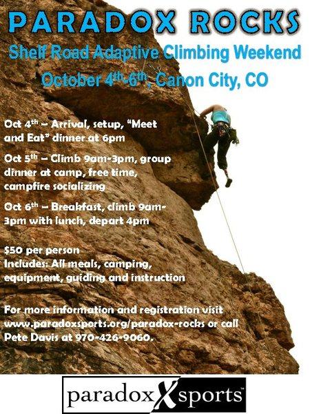 Flyer for Shelf climb