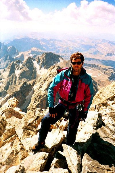 Luan Kruger, Summit Grand Teton 13,770