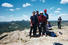 Rock Climbing Photo: Devils Tower Wyoming