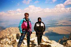 Rock Climbing Photo: Grand Teton 13,770, Upper Exum Ridge