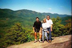 Rock Climbing Photo: Looking Glass Rock, NC