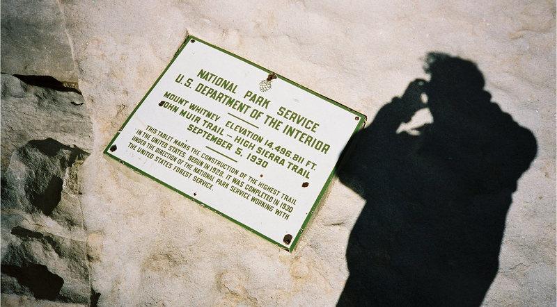 Rock Climbing Photo: Mt Whitney 14,496 ft