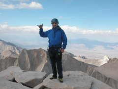 Rock Climbing Photo: Whitney, East Buttress 14,496 ft