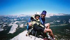 Rock Climbing Photo: Cathedral Peak, Yosemite, CA