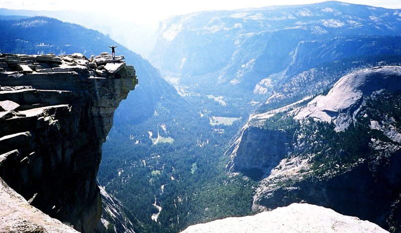 Rock Climbing Photo: Half Dome, Yosemite, CA