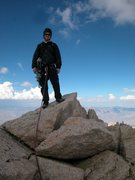 Rock Climbing Photo: Mt Russell, Fishook Arete 14,096 ft