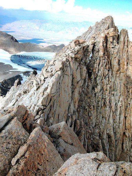 Rock Climbing Photo: Mt Russell, East Ridge