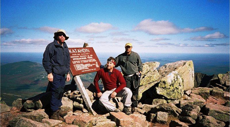 Rock Climbing Photo: N terminus of the Appalachian Trail