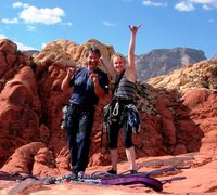 Rock Climbing Photo: Tim and Sandy
