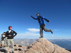 Rock Climbing Photo: Longs Peak, 14,246