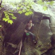 Rock Climbing Photo: Placing