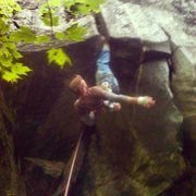 Rock Climbing Photo: Gettin eaten
