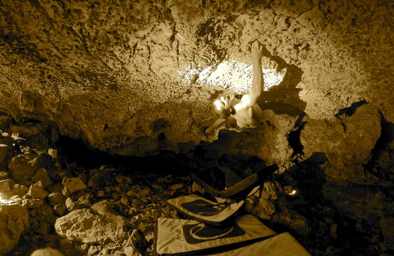 Cub Cave Bouldering