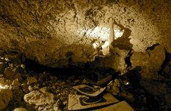 Rock Climbing Photo: Cub Cave Bouldering