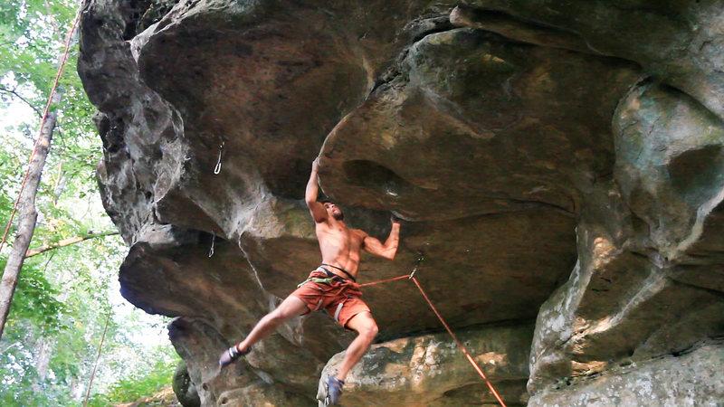 Rock Climbing Photo: Kevin on Gentlemen Prefer Nature Girls