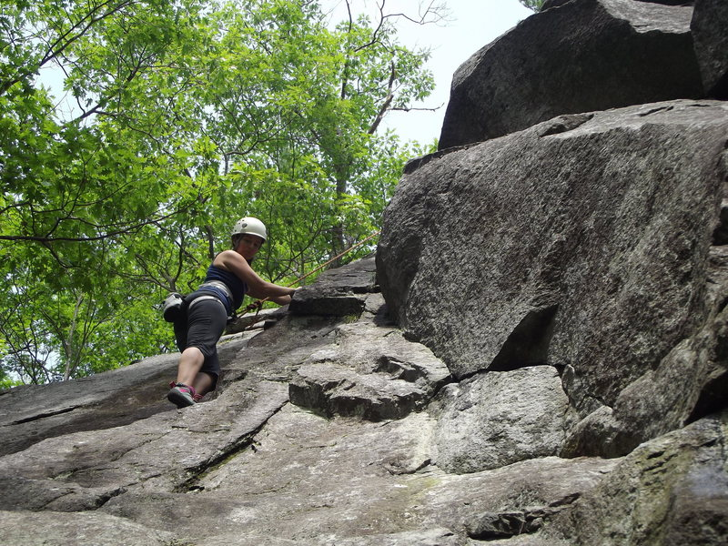 Rock Climbing Photo: Another shot of Emily on SCFB