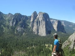 Rock Climbing Photo: Topped out on Nutcracker