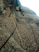 Rock Climbing Photo: Aiding on The Prow