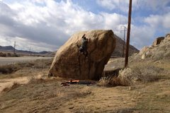 Rock Climbing Photo: Jonathan Reinig on Jon's Mantel!