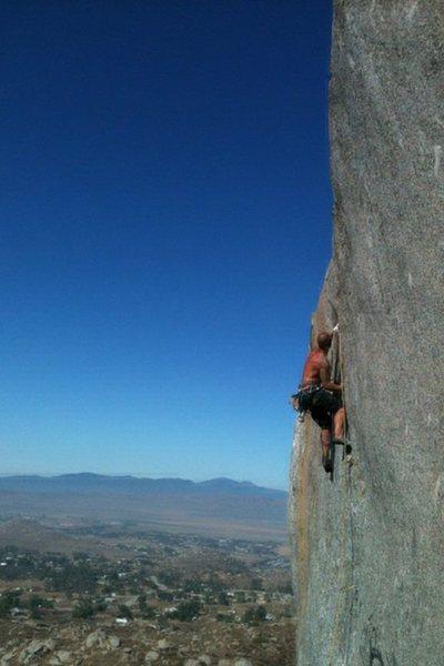 Rock Climbing Photo: I am Lizard King!!!