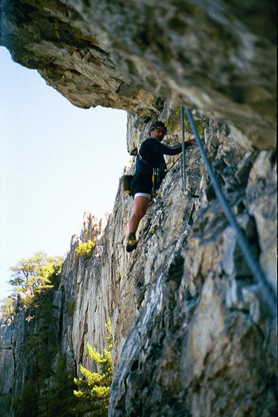 Pleasant Overhangs, Seneca Rocks, WV