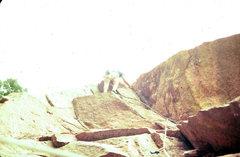 Rock Climbing Photo: Tagger, 1978, Eldorado Canyon