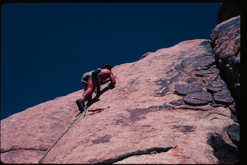 Rock Climbing Photo: Joshua Tree, CA
