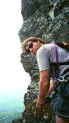 Rock Climbing Photo: Table Mt, NC