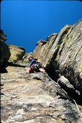 Rock Climbing Photo: Durrance Route, Devils Tower, WY