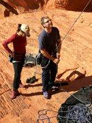 Rock Climbing Photo: Tim and Chloe