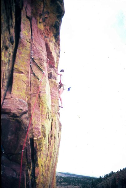 Ruper Traverse, Eldorado Canyon, CO 1978