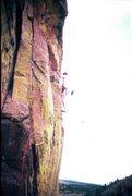 Rock Climbing Photo: Ruper Traverse, Eldorado Canyon, CO 1978