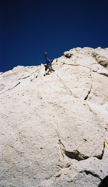 Rock Climbing Photo: Cathederal Peak, Yosemite,  CA