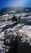 Rock Climbing Photo: West Crack, DAFF Dome, CA