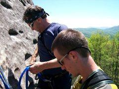 Rock Climbing Photo: Tim & Sean