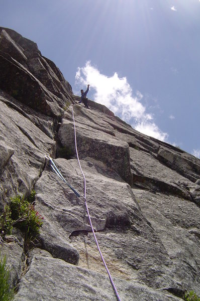 Rock Climbing Photo: Haystack, Lovers Leap